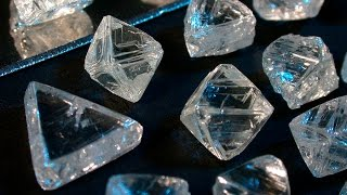 Download What Diamonds Look Like before they are Cut Video