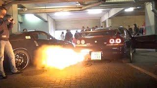 Download JDM Car Meet in Austria - 2JZ Supra Anti Lag FLAMES, Supercharged LS2 Corvette Burnout & much more! Video