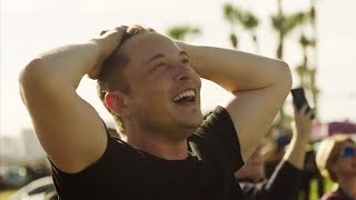 Download Elon Musk Extremely Emotional Reaction To Falcon Heavy Launch Video