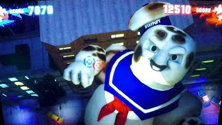 Download Ghostbusters Arcade Gameplay Kids Fun: Ghosts, Slimers & The StayPuft Marshmallow Man Boss Fights Video