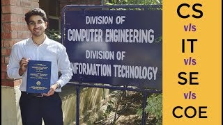 Download Computer Science vs Information Technology 🔥 vs COE vs CSE vs SE | The Real Difference🔥 Video