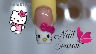 Download Uñas de acrilico hello kitty 3d frances paso a paso Nail Art Video
