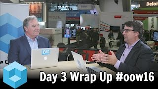 Download Day 3 Wrap - Oracle OpenWorld - #oow16 - #theCUBE Video
