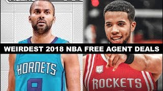 Download 5 Weirdest Signings Of NBA Free Agency 2018 Video