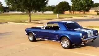 Download 1966 Ford Mustang Coupe Walk Around With Exhaust Sound Video