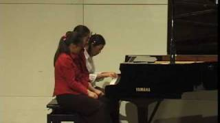 Download Bizet Carmen Overture 6 hands on one piano Video