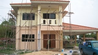 Download Building a House in Thailand - Start to finish Video
