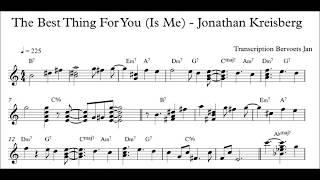 Download The Best Thing For You - Jonathan Kreisberg transcription Video