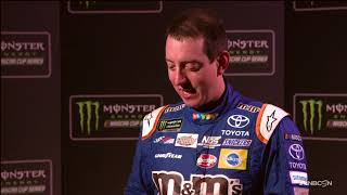 Download Elliott, Kenseth and other drivers tackle in-car audio quiz Video