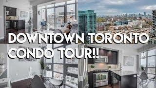 Download DOWNTOWN TORONTO CONDO TOUR 2019! Video