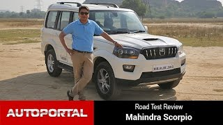 Download 2014 Mahindra Scorpio Test Drive Review - Autoportal Video