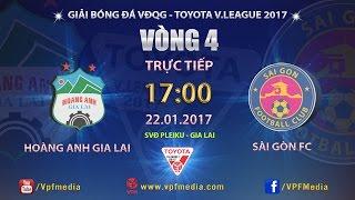 Download FULL | HOÀNG ANH GIA LAI vs SÀI GÒN (1-1) | VÒNG 4 V LEAGUE 2017 Video