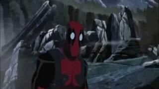 Download Deadpool's parts in Hulk Vs Wolverine. Video