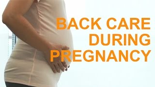Download Pregnancy: Tips to Reduce Back Pain Video