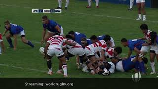 Download Highlights: Japan continue unbeaten run at World Rugby U20 Trophy Video