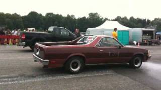 Download Flo Chevy Chevrolet El Camino Elcamino Rennen Race Run2 Video