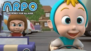 Download ARPO The Robot For All Kids - Baby Racer   Full Episode   Cartoon for Kids Video