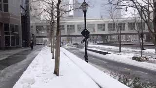 Download Fourth Nor'easter Snow Storm is hitting New York Video