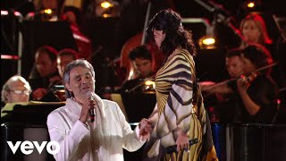 Download Andrea Bocelli, Laura Pausini - Dare To Live (HD) ft. Laura Pausini Video