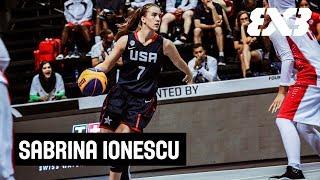 Download ″3x3 helps us get tougher!″   Sabrina Ionescu (Team USA) Video