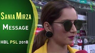 Download Indian Tennis Sensation Sania Mirza Interview | HBL PSL 2018 | PSL Video