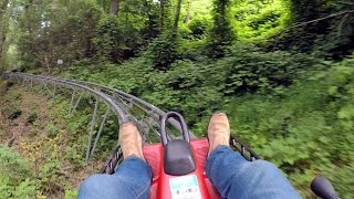 Download Gatlinburg Mountain Coaster on-ride HD POV @60fps Video