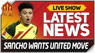 Download SANCHO'S MAN UTD TRANSFER HINT! Man Utd News Video