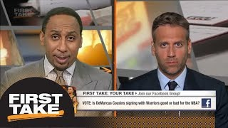 Download Max on Warriors adding DeMarcus Cousins: Other teams need to step their game up | First Take | ESPN Video
