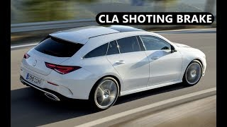 Download 2020 Mercedes CLA Shooting Brake - Driving, Exterior, Interior Video