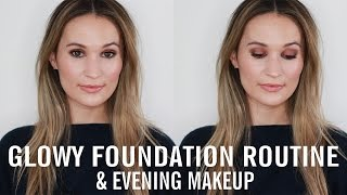 Download My Glowy Foundation Routine & Evening Makeup Look Video