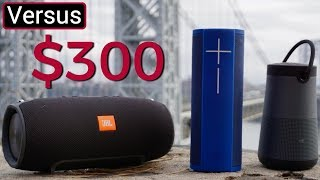 Download JBL Xtreme Vs UE Megablast Vs Bose Soundlink Revolve Plus - $300 Speaker Showdown Video