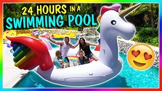 Download 24 HOURS IN OUR SWIMMING POOL | We Are The Davises Video