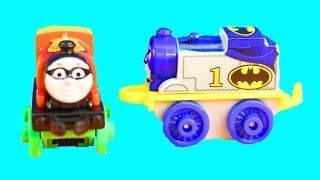 Download Thomas & Friends Learn To Count Counting Minis Batcave With Batman Superman Robin Superhero Train Video