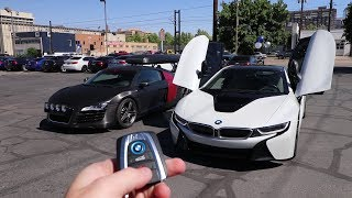 Download Swapping out the Audi R8 for a BMW i8 Video