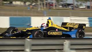 Download 2019 Indycar Preseason Testing at Sebring Video