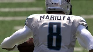 Download SUPER MARIO! Marcus Mariota CLAWING HIS WAY THROUGH THE DEFICIT! Madden 17 Draft Champions Gameplay Video