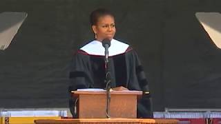 Download Michelle Obama Commencement Speech 2015 Video