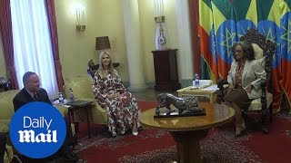 Download Ivanka Trump meets with Ethiopian President Sahle-Work Zewde Video