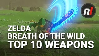 Download Top Ten Weapons in The Legend of Zelda: Breath of the Wild with Arekkz Gaming Video