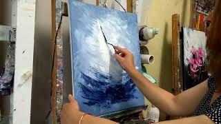 Download Cours de peinture au couteau (tuto facile) Les Voiliers Video