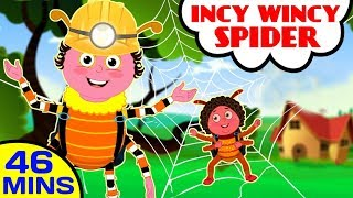 Download Incy Wincy Spider and other Nursery Rhymes Video