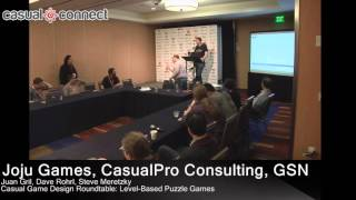 Download Casual Game Design Roundtable: Level-Based Puzzle Games Video