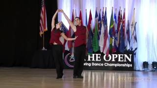 Download Christopher Dumond and Tara Trafzer - Classic Finals US Open 2016 - 5th Place Video