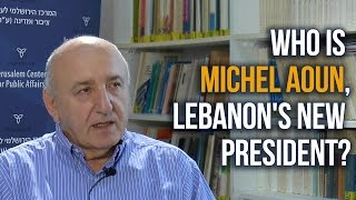 Download Jacques Neriah: Who is Michel Aoun, Lebanon's New President? Video