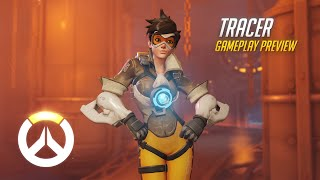 Download Tracer Gameplay Preview | Overwatch | 1080p HD, 60 FPS Video