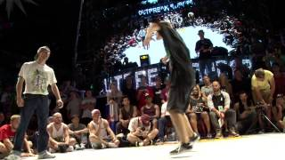 Download Outbreak Europe 2014 1vs1 World Bboy Series Semifinal| Killa Kolya vs Kuzya Video