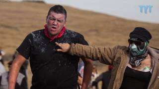 Download DAPL Worker With Assault Rifle Infiltrates Standing Rock Video