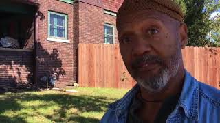 Download Indy man paints message about patriotism on north side after kneeling protests Video