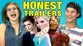 Download Teens React to Honest Trailers Video
