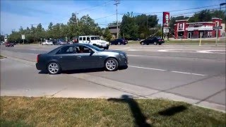 Download Cadillac CTS-V (1st Gen) Leaving Car Show, Acceleration Video